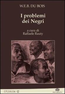I problemi dei negri - copertina