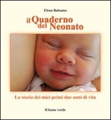 Camfeed.it Il quaderno nel neonato. La storia dei miei due anni di vita Image