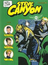 Libro Steve Canyon. Vol. 4 Milton Caniff