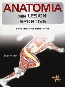 Daddyswing.es Anatomia delle lesioni sportive. Per il fitness e la riabilitazione Image