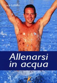 Antondemarirreguera.es Allenarsi in acqua. esercizi, metodologie e programmi di lavoro per il fitness e il training in acqua Image