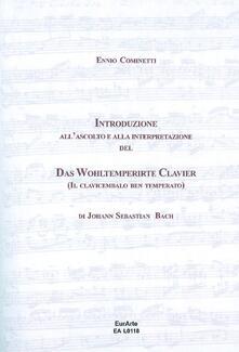Voluntariadobaleares2014.es Introduzione all'ascolto e alla interpretazione del Das WohlterperirteKlavier, il clavicembalo ben temperato di J. S. Bach Image