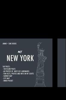 Promoartpalermo.it New York visula notebook. Black night Image