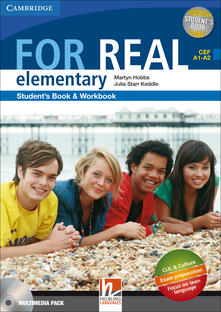 Listadelpopolo.it For real. Elementary. Multimedia pack. Per le Scuole superiori. Con CD Audio. Con CD-ROM. Con espansione online Image