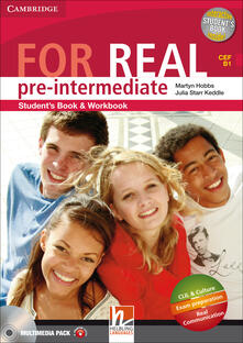Camfeed.it For real. Pre-intermediate. Multimedia pack. Per le Scuole superiori. Con CD Audio. Con CD-ROM. Con espansione online Image