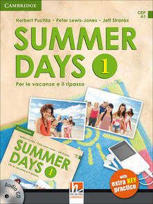 Warholgenova.it Summer days. Per la Scuola media. Con CD Audio. Vol. 1 Image