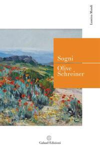Libro Sogni Olive Schreiner