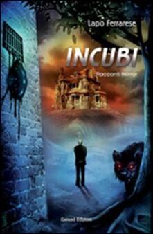 Incubi - Lapo Ferrarese - copertina