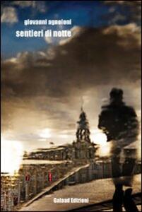 Sentieri di notte - Giovanni Agnoloni - copertina