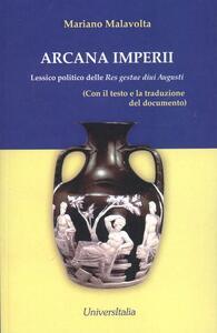 Arcani imperii. Lessico politico delle res gestae divi Augusti