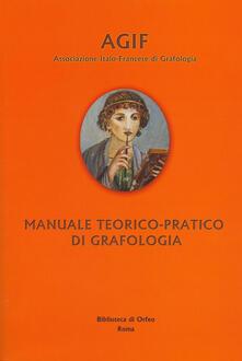 Radiospeed.it Manuale teorico-pratico di grafologia Image