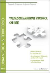 Valutazione ambientale strategica. Che fare?