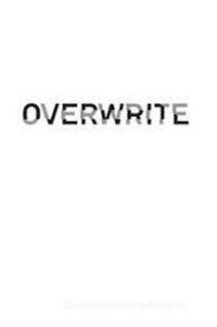 Overwrite. Ediz. italiana e inglese - Cristian Li Voi - copertina
