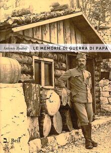 Nicocaradonna.it Le memorie di guerra di papà Image
