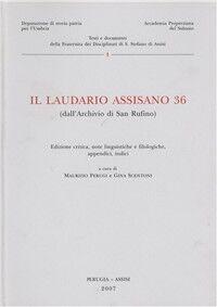 Il laudario assisano 36 (dall'Archivio di san Ruffino)