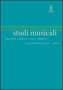 Lpgcsostenible.es Studi musicali (2014). N.S. Ediz. italiana, inglese e tedesca. Vol. 1 Image