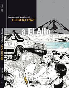 Edson Paz e l'enigma del Cotopaxi - PiElle,Babich - copertina