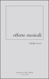 Offerte musicali