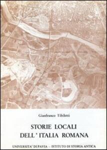 Storie locali dell'Italia romana