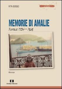 Memorie di Amalie. Ponza 1734-1868