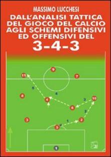 Daddyswing.es Dall'analisi tattica del gioco del calcio agli schemi difensivi e offensivi del 3-4-3. Con DVD Image