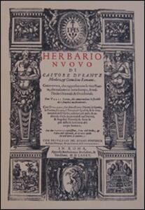 Herbario nuovo (rist. anast. 1585)
