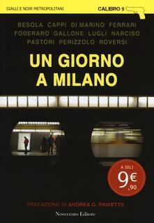 Un giorno a Milano - copertina