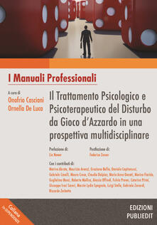 Writersfactory.it Il trattamento psicologico e psicoterapeutico del disturbo da gioco d'azzardo in una prospettiva multidisciplinare Image