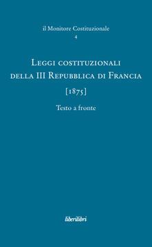 Premioquesti.it Leggi costituzionali della III Repubblica di Francia (1875) Image