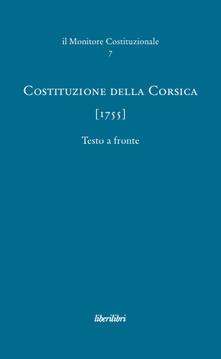 Nicocaradonna.it Costituzione della Corsica (1755) Image