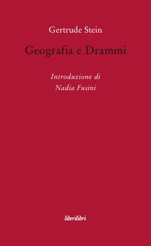 Geografia e drammi - Gertrude Stein - copertina