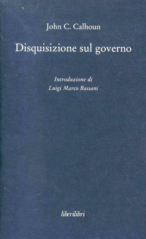 Disquisizione sul governo
