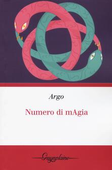 Numero di mAgia - Argo - copertina