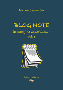 Blog note (a margine 2015-2012)