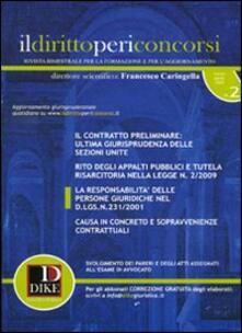 Amatigota.it Il diritto per i concorsi (2009). Vol. 2 Image