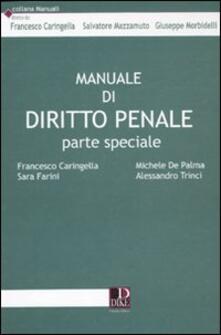 Secchiarapita.it Manuale di diritto penale. Parte speciale Image