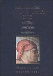 Agenda letteraria Dante Alighieri 2012