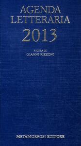 Agenda letteraria 2013