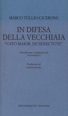 Radiospeed.it In difesa della vecchiaia. «Cato Maior, de senectute» Image