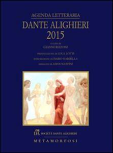 Agenda letteraria Dante Alighieri 2015
