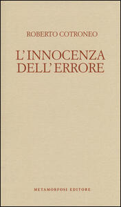 L' innocenza dell'errore