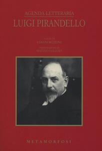 Agenda letteraria Luigi Pirandello 2017
