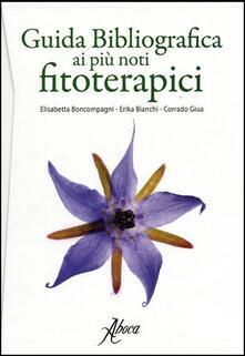 Camfeed.it Guida bibliografica ai più noti fitoterapici Image