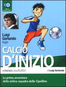 Winniearcher.com Calcio d'inizio letto da Luigi Garlando. Audiolibro. 2 CD Audio Image