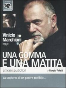 Winniearcher.com Una gomma e una matita letto da Vinicio Marchioni. Audiolibro. 3 CD Audio Image
