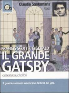 Daddyswing.es Il grande Gatsby letto da Claudio Santamaria. Audiolibro. CD Audio formato MP3. Ediz. integrale Image