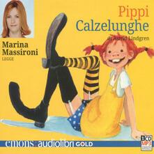 Pippi Calzelunghe letto da Marina Massironi. Audiolibro. CD Audio formato MP3.pdf