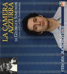 La camera azzurra letto da Claudio Santamaria. Audiolibro. CD Audio formato MP3. Ediz. integrale.pdf