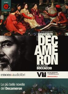 Steamcon.it Le più belle novelle del Decamerone lette da Alessandro Benvenuti. CD Audio formato MP3 Image