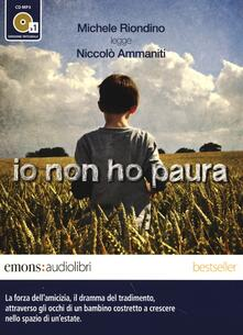 Cefalufilmfestival.it Io non ho paura letto da Michele Riondino. Audiolibro. CD Audio formato MP3. Ediz. integrale Image